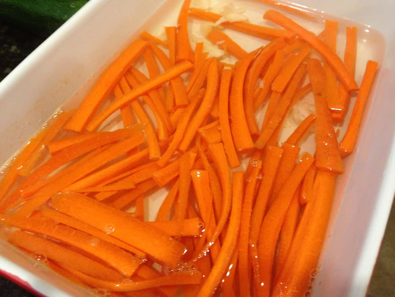 Quick Pickled Carrot Sticks