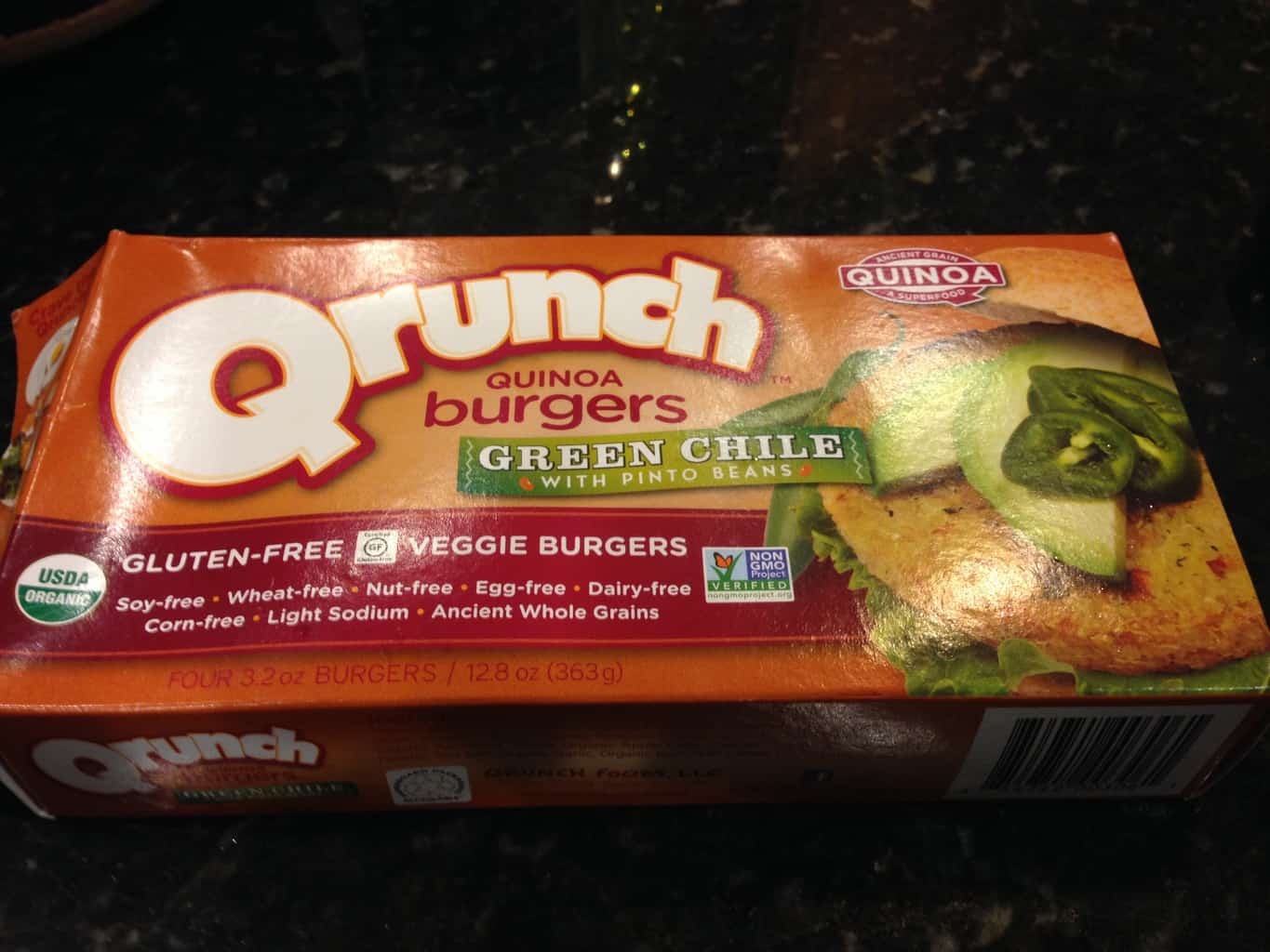 Gluten-Free Product Review: Qrunch Quinoa Burgers