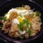 filipino-style garlic fried rice