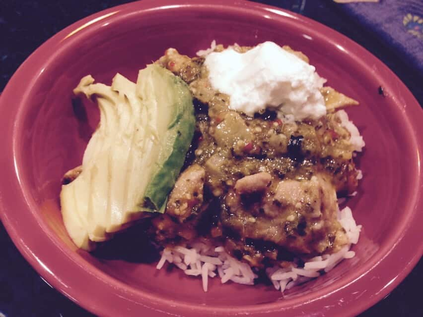 Gluten-Free Chicken Chile Verde