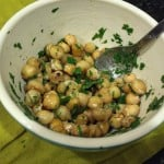 Pan-Roasted Chickpea Salad