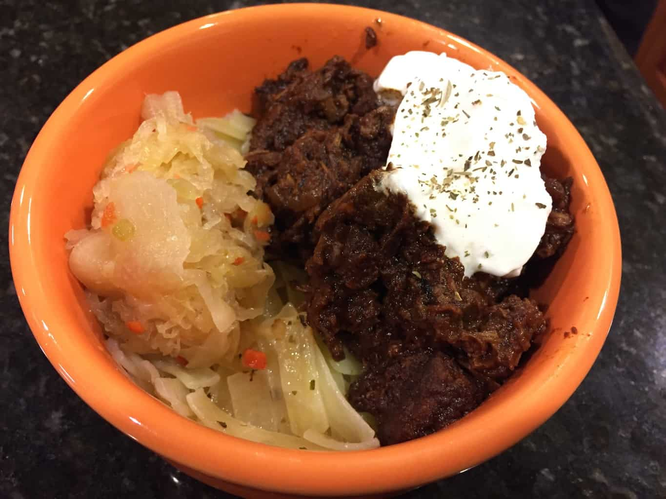 Gluten-Freen Hungarian Beef with Paprika